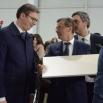Премијер Србије Александар Вучић у посети фабрици Јела у Јагодини