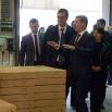 Премијер Србије Александар Вучић у посети фабрици Јела у Јагодини - 03/03/2017