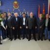 Амбасадор Палестине у Србији Мухамед Набхан, са делегацијом Привредне коморе града Јерохина у посети Јагодини