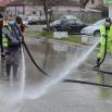 У Јагодини  још  једном спроведена дезинфекција улица и јавних површина