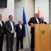 У оквиру посете  Херцег Новом  одржана заједничка  Конференција за штампу