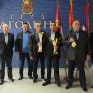 Европски шампион Александар Коновалов на пријему код председника Скупштине града Јагодина