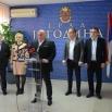 Поводом одласка делегације у Беч у Скупштини града Јагодина одржана Конференција за новинаре