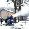 Почео са радом систем за прављење вештачког снега у излетишту Поток
