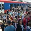 Аква воз довезао 500 туриста из Београда