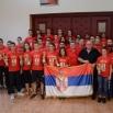 У Јагодини одржана конференција за новинаре поводом великог успеха Србије на Европском првенству у Скопљу у кик боксу