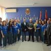 Председник Скупштина града Јагодине Драган Марковић Палма приредио пријем за рукометашице Јагодине