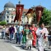 У Јагодини је организована традиционална Тројичка литија